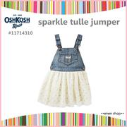 Enen Shop @OshKosh B'gosh 閃亮薄紗愛心吊帶裙 ∥12M/18M/24M/2T/3T/4T