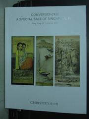 【書寶二手書T6/收藏_XCO】Christies_Convergences:A Special_2015/11/29