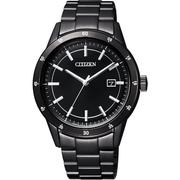【CITIZEN】Eco-Drive 城市風尚腕錶-黑(AW1165-51E)