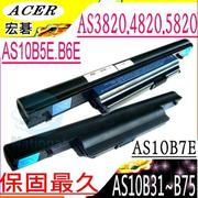 ACER 3820電池-ASPIRE TIMELINE 3820T,5820T,5820TG電池,AS10B6E