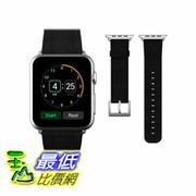 [104美國直購] JETech 錶帶 38mm Genuine Leather Strap Wrist Band for Apple Watch 黑紅粉三色 $1198