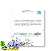 [104美國直購] Silhouette Studio Designer Edition Software Card for Scrapbooking $1459