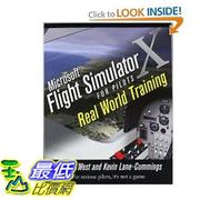 [美國直購] 微軟模擬飛行 Microsoft Flight Simulator X For Pilots Real World Training [Paperback] $1324