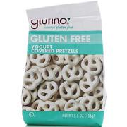 [iHerb] [iHerb] Glutino Yogurt Covered Pretzels, Gluten Free, 5.5 oz (156 g)