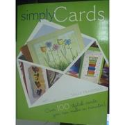 【書寶二手書T4/美工_PGR】Simply Cards_Traidman, Sally