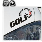 A0145 VW GOLF轉速表貼紙 TOURAN GOLF JETTA POLO PASSANT TIGUAN