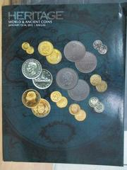 【書寶二手書T7/收藏_XDN】Heritage_World ancient coins..._2015/1/13-14