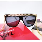 加購+ Hip-Hop gold chain sunglasses 金鍊眼鏡