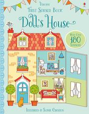 Usborne Make a Picture Sticker Book 貼紙書 Doll's house *夏日微風*