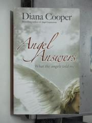 【書寶二手書T7/原文小說_OSL】Angel Answers_Diana Cooper