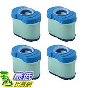 [106美國直購] 4 Durable Briggs & Stratton 276890, 792105, 4233, 5405H & 5405K Air Filter Cartridges