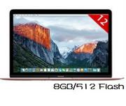 Apple 蘋果   MacBook MMGM2TA/A 12吋筆電 玫瑰金12吋/CoreM-1.2/8GB/512 Flash-Rose Gold