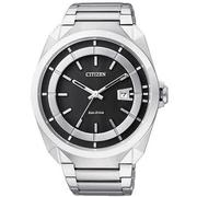 CITIZEN Eco-Drive 時尚紳士風腕錶 AW1010-57E