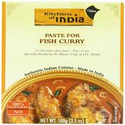 [iHerb] Kitchens of India, Paste For Fish Curry, 3.5 oz (100 g)