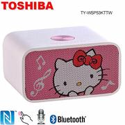 TOSHIBA Hello Kitty NFC 藍芽喇叭音響 TY-WSP53KTTW (福利品)-家電.影音-myfone購物