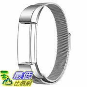 [美國直購] Swees 銀色 SWS-FITBITALTAS 錶帶 Fitbit Alta Bands Metal Stainless Steel Replacement Band