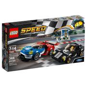 LEGO《 LT75881 》SPEED CHAMPIONS 系列 - 2016 Ford GT & 1966 Ford GT40