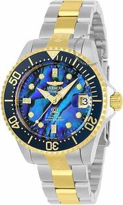 展示品 Invicta 23988 Grand Diver Automatic Abalone Dial Bracelet Resized Womens Watch 女錶 332791082785