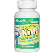 [iHerb] Mason Naturals, Healthy Kids Probiotic With Fiber, 60 Chewables