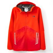 (男)The North Face LIGHTEN 兜帽外套橘CUG4BTX-