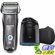 [106美國直購] Braun Series 7 7865cc Wet & Dry Electric Shaver for Men with Clean System 電動剃須刀