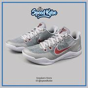 ☆SP☆NIKE Kobe XI EP Lower Merion Aces  灰紅洞洞 反光 高中 836184-006