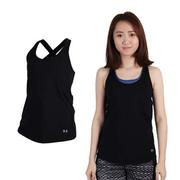 (女) UNDER ARMOUR UA HG COOLSWITCH運動背心-慢跑 黑