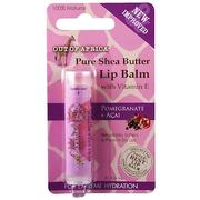 [iHerb] [iHerb] Out of Africa Lip Balm, Pure Shea Butter, Pomegranate + Acai, 0.15 oz (4 g)