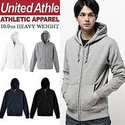 日本United Athle素面連帽外套 ZIP JACKET重磅磨毛UA