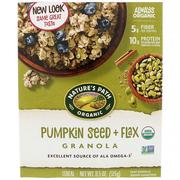 [iHerb] Nature's Path, Organic Pumpkin Seed + Flax Granola Cereal, 11.5 oz (325 g)