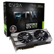 ★快速到貨★EVGA 艾維克 GTX1070 8GB FTW BP 2BIOS ACX3.0 GDDR5 PCI-E圖形卡