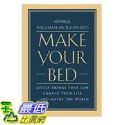 [106美國直購] 2017美國暢銷書 Make Your Bed:Little Things That Can Change Your Life...And Maybe the World