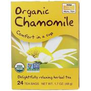 [iHerb] Now Foods, Organic Chamomile, 24 Tea Bags, (2 g) Each