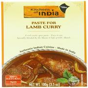Kitchens of India, Paste For Lamb Curry, 3.5 oz (100 g)