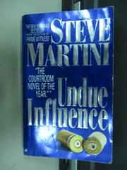 【書寶二手書T7/原文小說_ISH】Undue Influence_Steve Martini
