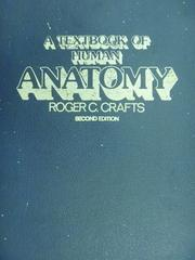 【書寶二手書T5/大學理工醫_YIS】A Textbook of Human Anatomy_Roger C_1980年