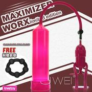 Lovetoy.maximizer worx limited edition 真空吸引陰莖助勃器(粉) 真空吸引器 情趣用品