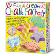 【4M 創意 DIY】My Fun & Creative Chalk Factory 趣味粉筆畫筆