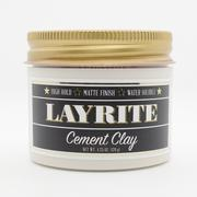 LAYRITE Cement Clay 黑色水泥 4.25oz 新包裝