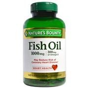 [iHerb] Nature's Bounty, Fish Oil, 1000 mg, 145 Rapid Release Softgels