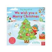 Nosy Crow - Sing Along With Me! 推拉搖轉書-We Wish You A Merry Christmas