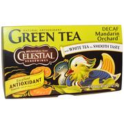 [iHerb] Celestial Seasonings, Green Tea, Decaf, Mandarin Orchard, 20 Tea Bags, 1.2 oz (34 g)