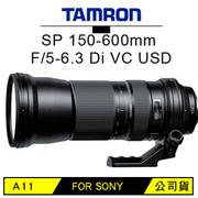 TAMRON SP 150-600mm F5-6.3 DI VC USD 單眼相機鏡頭(A11(公司貨)FOR SONY)