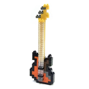 【 nanoblock 】NBC-051 貝斯 Electric Bass