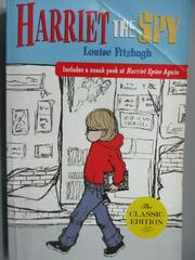 【書寶二手書T4/原文小說_MEY】Harriet The Spy_Louise Fitzhogh