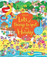 Usborne Lots of things to spot on Holiday 尋找遊戲貼紙書-假期 *夏日微風*