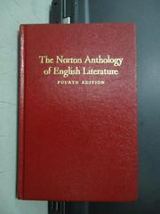 【書寶二手書T4/原文小說_JSD】The norton anthology of english..._民71年