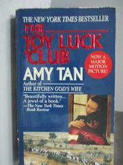 【書寶二手書T9/原文小說_MDF】The Joy Luck Club_Amy Tan