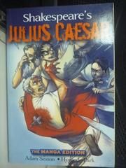【書寶二手書T9/漫畫書_LOF】Shakespeare's Julius Caesar: The Manga Edit