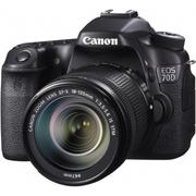 Canon EOS 70D KIT (18-135mm STM) 彩虹公司貨